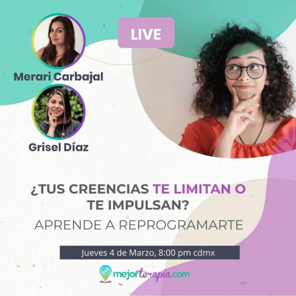Evento Live MejorTerapia